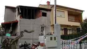 El estado de la casa de María José tras la explosión originada por su expareja y que acabó con su vida.