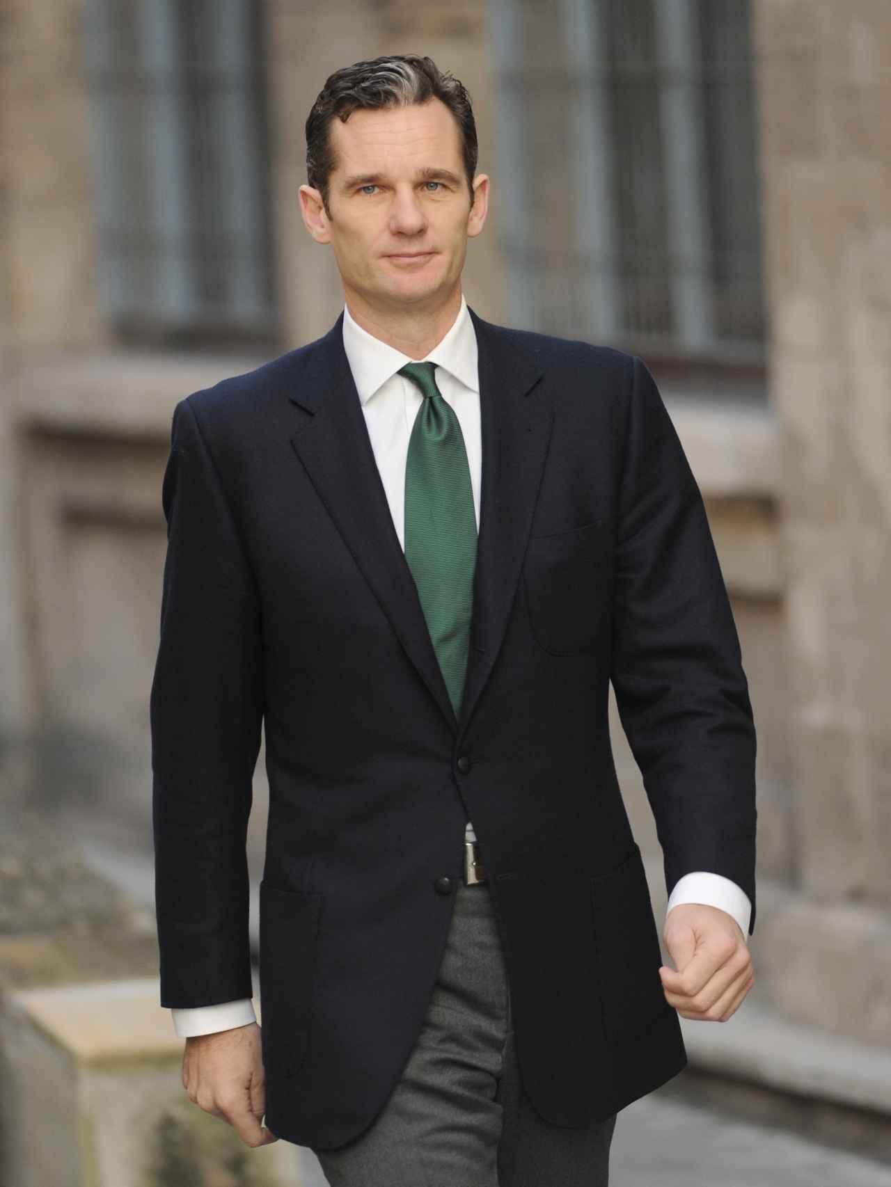 Iñaki Urdangarín en los juzgados de Palma de Mallorca  el 26 de febrero de 2012.