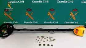 denunciado-monedas-antiguas-detector-metales-valladolid-palencia