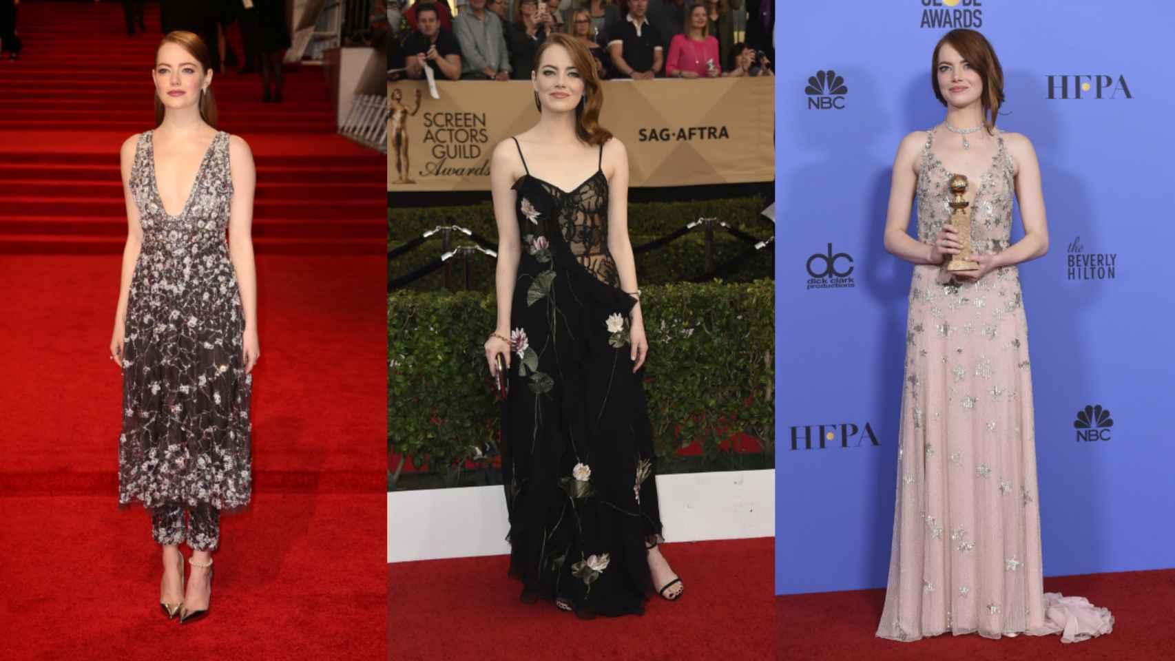 Los Mejores Looks de Emma Stone sobre la Alfombra Roja