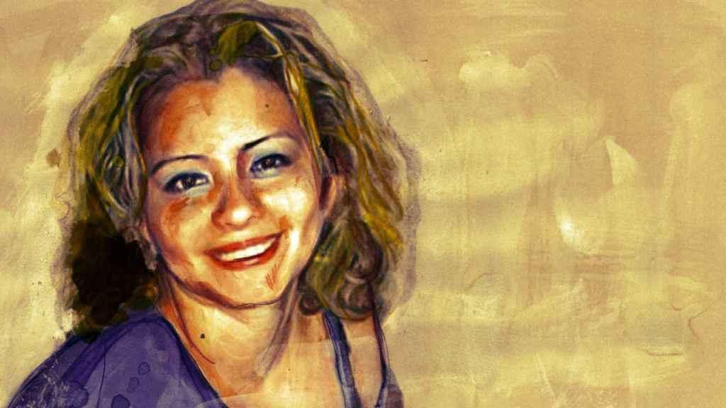 Ilustración de Leidy Yuliana Díaz Alvarado basada en una fotografía de la víctima.
