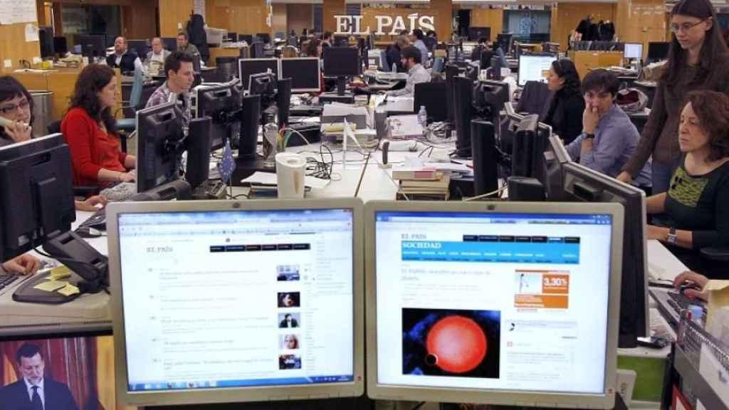 Redacción del diario 'El País' en una imagen de archivo