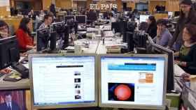 Redacción del diario 'El País' en una imagen de archivo.