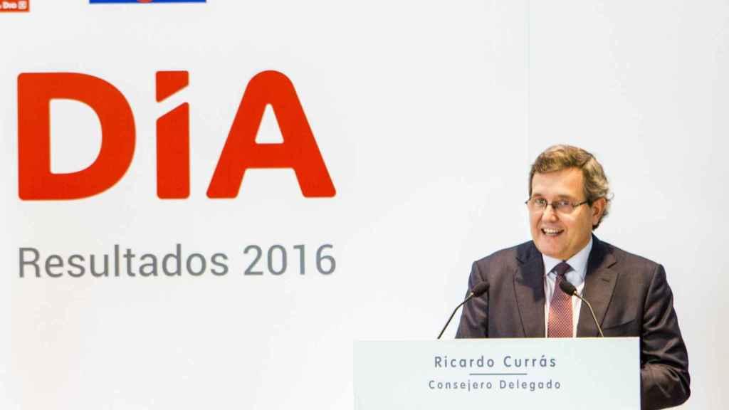 Ricardo Currás, consejero delegado de Dia.