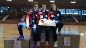 equipo femenino junior esgrima valladolid 1