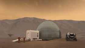 Recreación de los hábitats propuestos por la NASA
