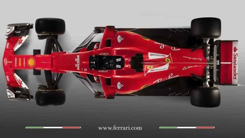 Ferrari SF70H.