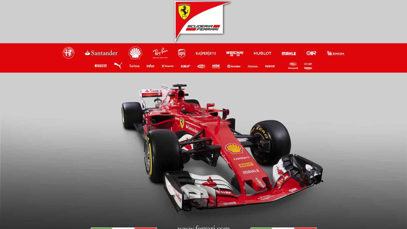 Así será el nuevo SF70H de Ferrari