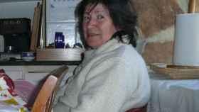 Mauricia Ibáñez, en su vivienda en la localidad burgalesa de Palacios de la Sierra.