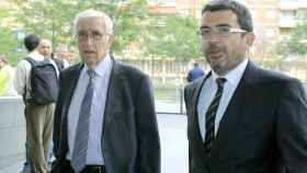 El extesorero de CDC, Daniel Osácar, y el ex coordinador, Francesc Sánchez, ambos investigados.