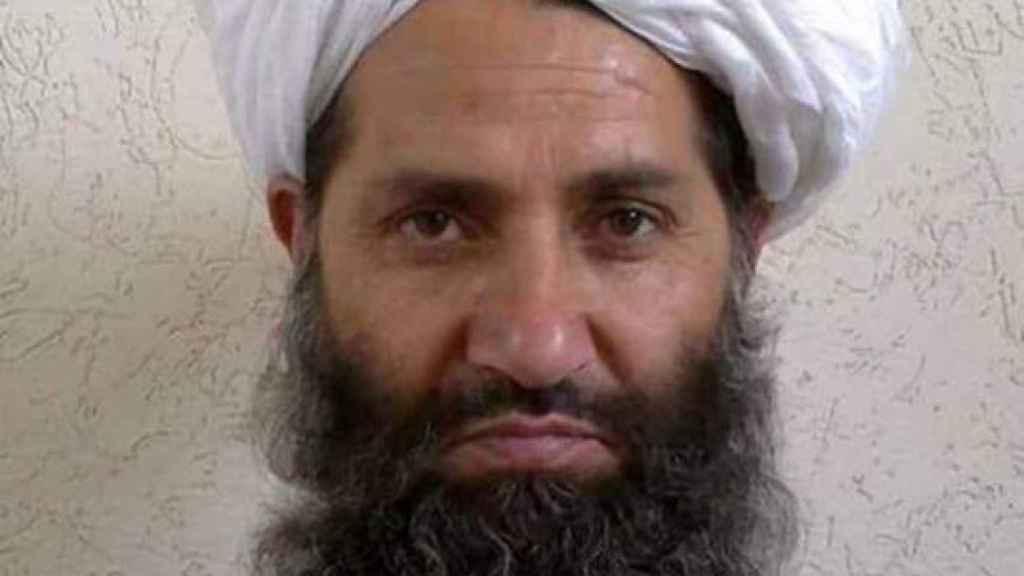 El mulá Haibatullah es el líder de los talibanes desde 2016