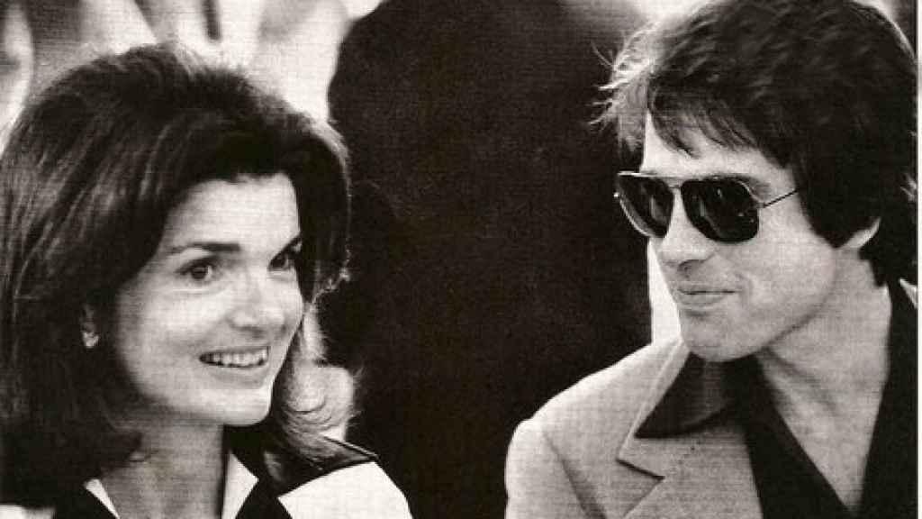 Jacqueline Kennedy y Warren Beatty.