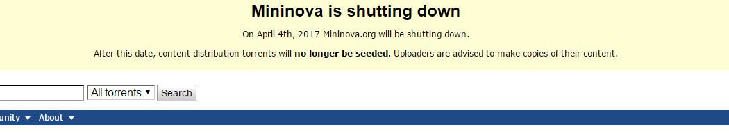 mininova cierre 1