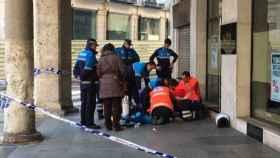 fallece anciana calle valladolid centro ambulancia policia 1