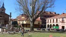 Plaza del Grano soleada