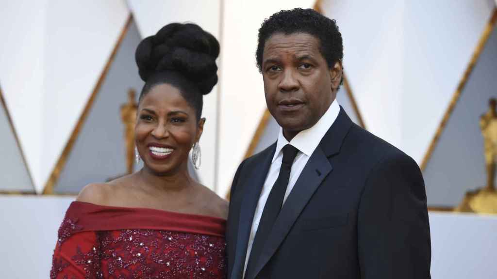 Pauletta Washington y Denzel Washington
