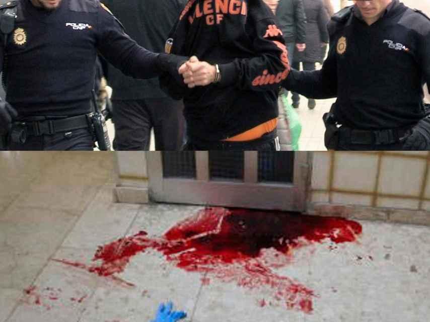 Gloria Amparo fue arrojada por el hueco de la escalera por José Luis G. G., un maltratador reincidente.