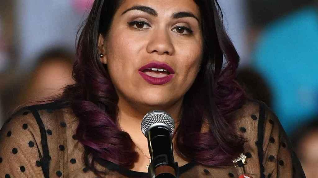 Astrid Silva ya defendió la reforma migratoria ante una comisión parlamentaria en 2014.