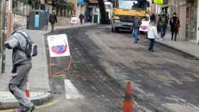 zamora obras asfaltado