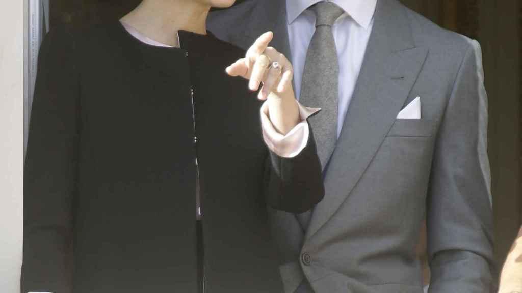 Pierre Casiraghi y Beatrice Borromeo en la celebración del Día Nacional de Mónaco