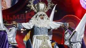 Imagen de la virgen Drag que ganó en Las Palmas.