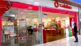 Tienda de Vodafone, en una imagen de archivo.