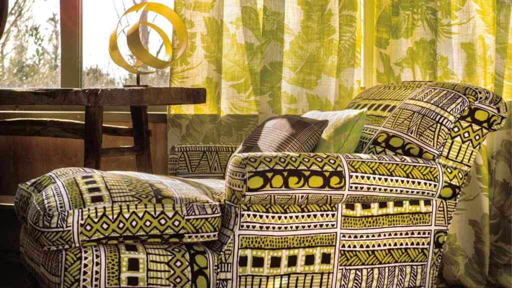 El greenery puede darle un toque étnico a la decoración. | Foto: Colección Africalia de Gastón y Daniela.