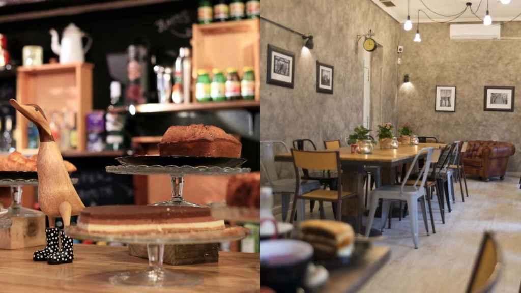 Las tartas y postres caseros son una de sus especialidad. |Foto cortesía de Mür Café