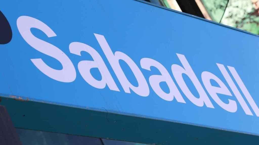 Letrero del Banco Sabadell