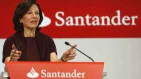 La presidenta del Santander, Ana Botín, es una de las tres consejeras que son ejecutivas.