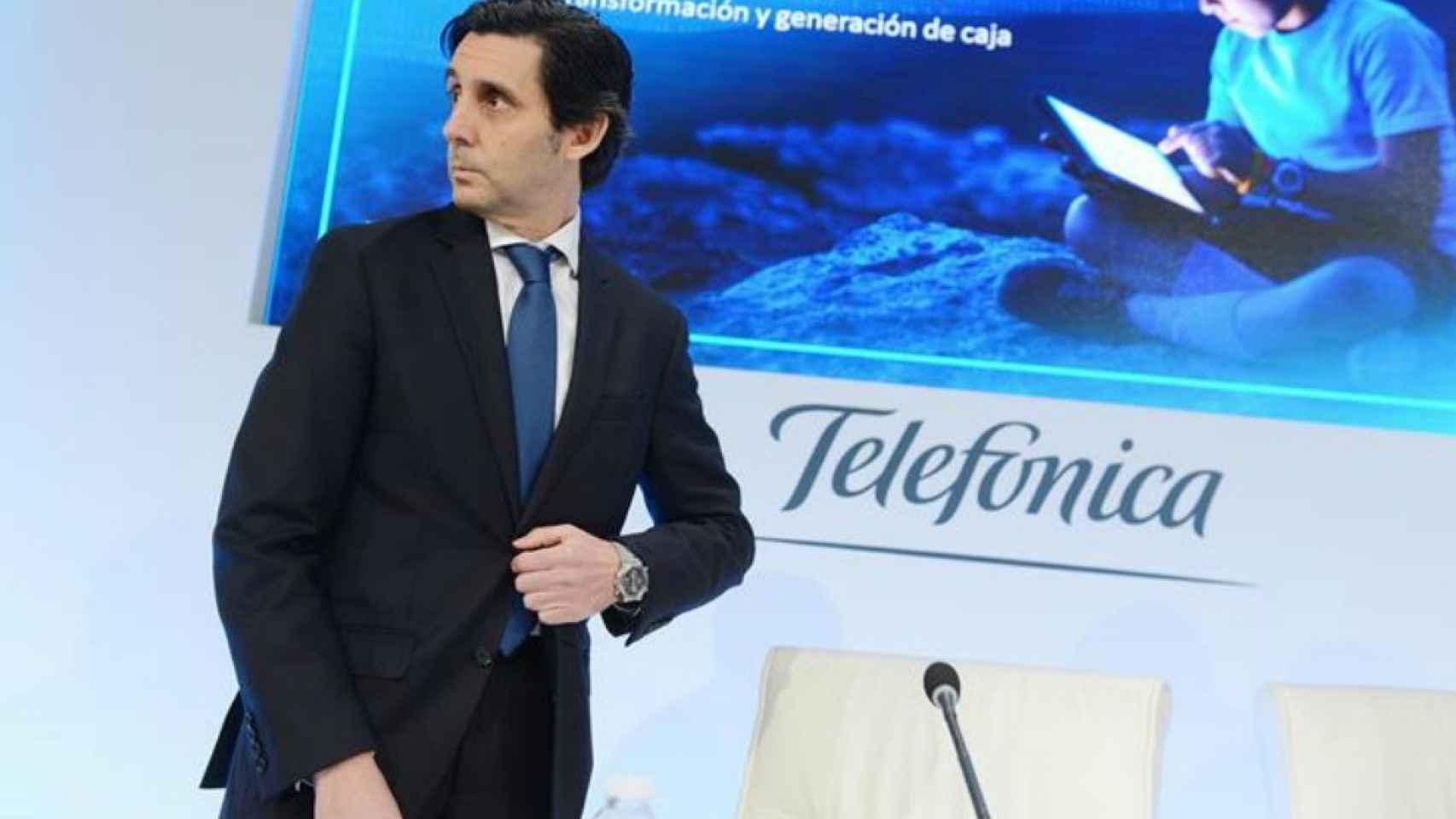José María Álvarez-Pallete.