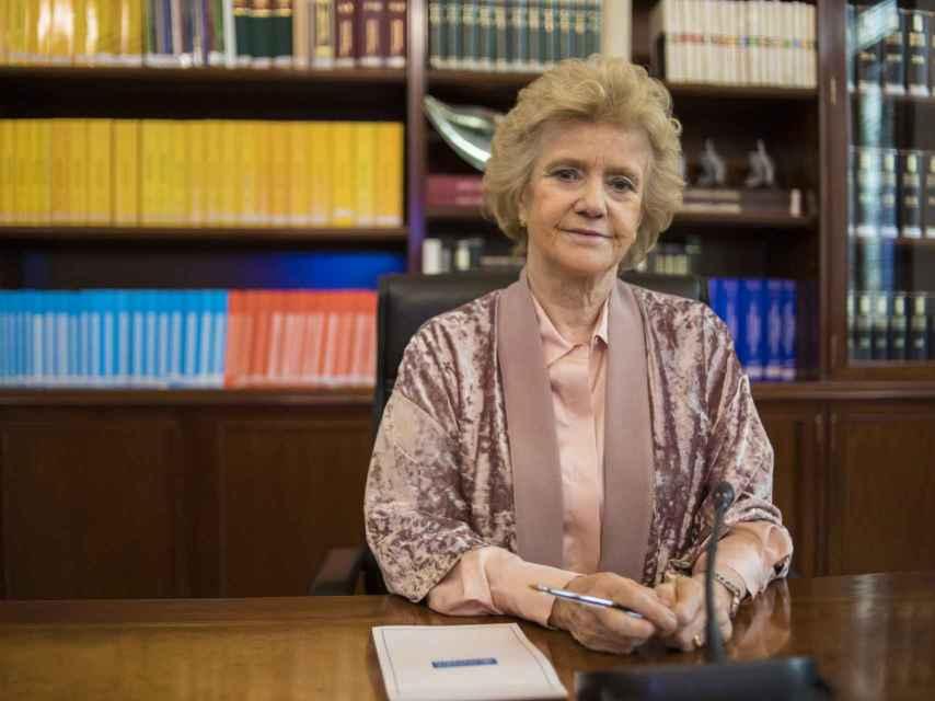 Soledad Becerril entró en política con 20 años.