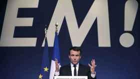 Macron defiende reforzar la UE.