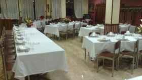 El comedor del hotel Carmen de Bembibre