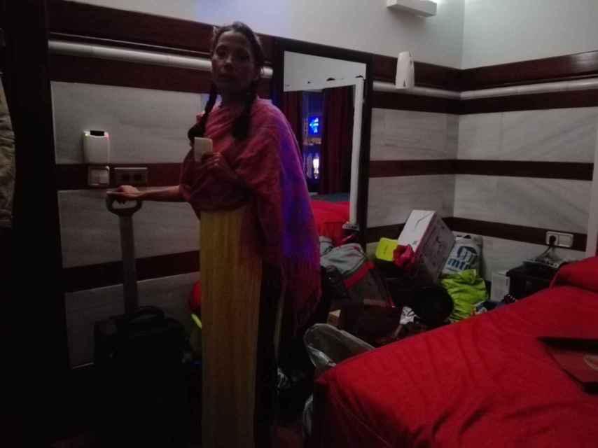Evelyn Rochel se atrincheró en la habitación 113 del club Flowers.