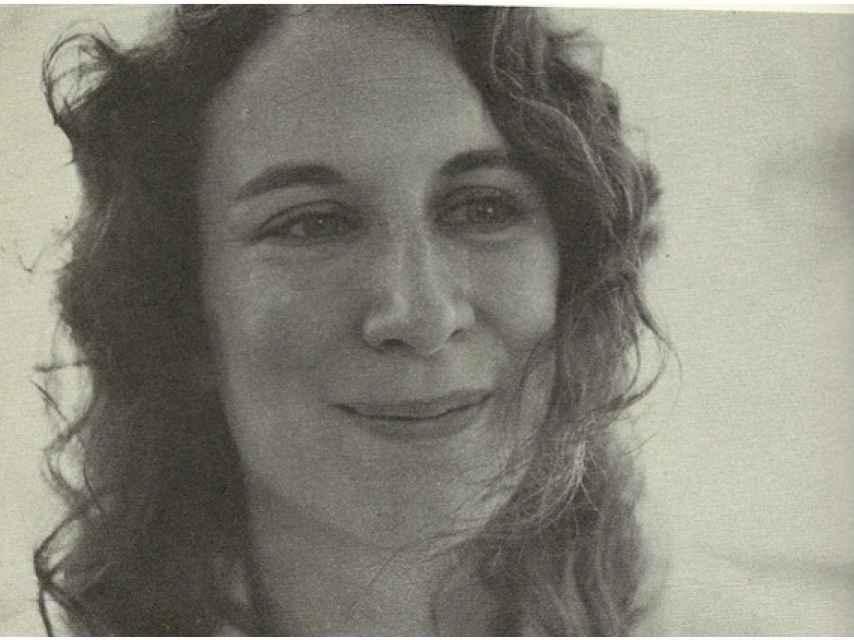 La joven Margaret Atwood.