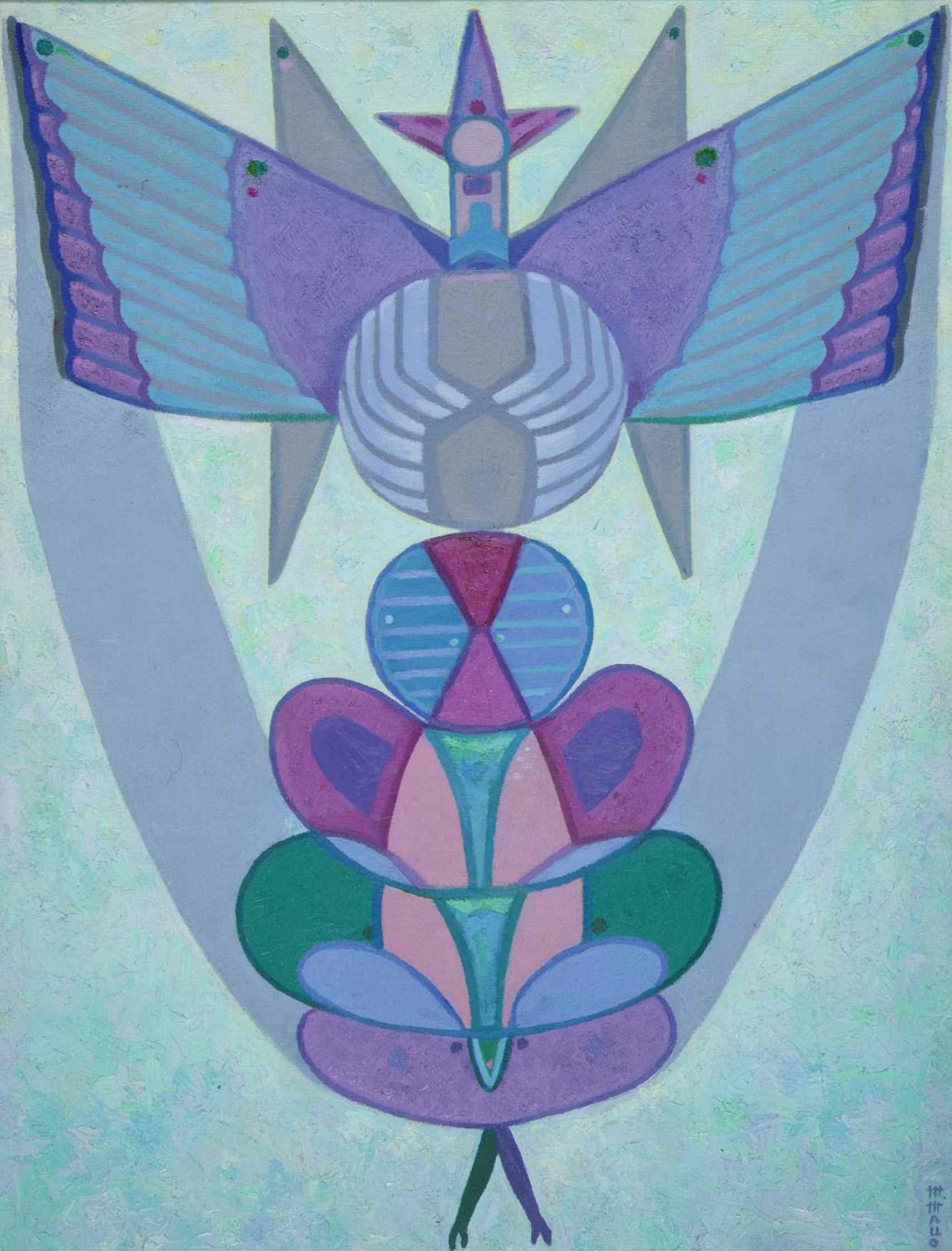 La pintura Airagu (1972), en el Museo Nacional Centro de Arte Reina Sofía.