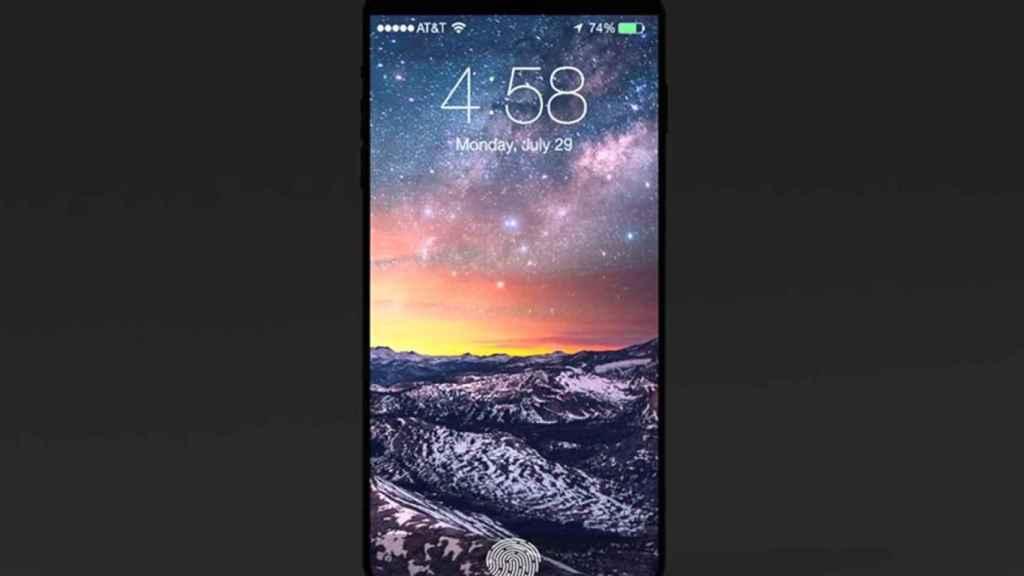 iphone 8 lector huellas 1