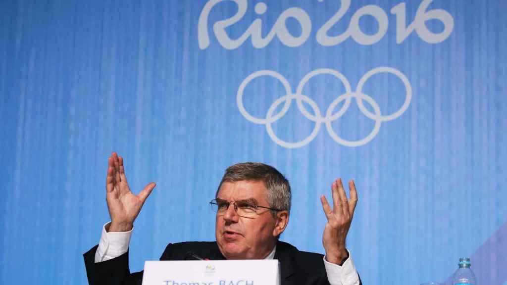 Thomas Bach, durante los Juegos de Río.