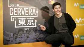 Márquez, durante la presentación de 'De Cervera a Tokio'.