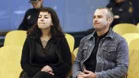 Los autores del atentado contra la basílica de El Pilar, en el transcurso del juicio.