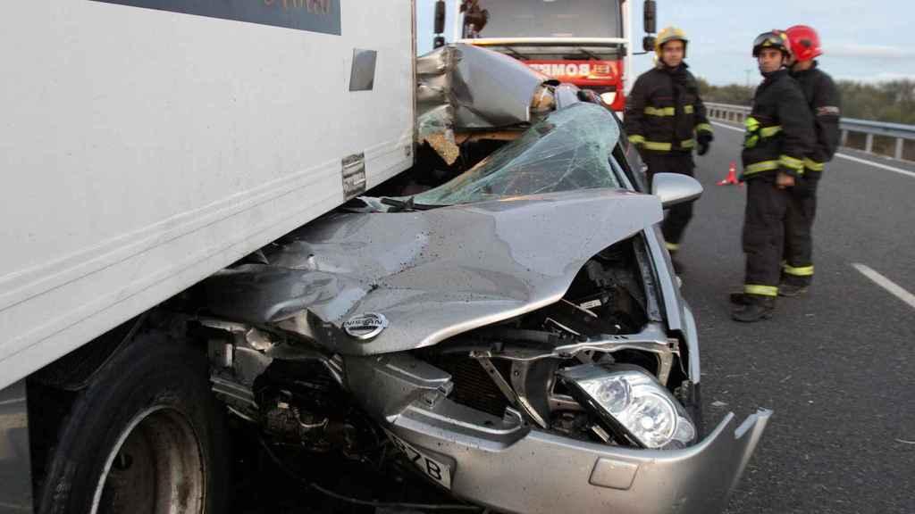 Accidente de tráfico.