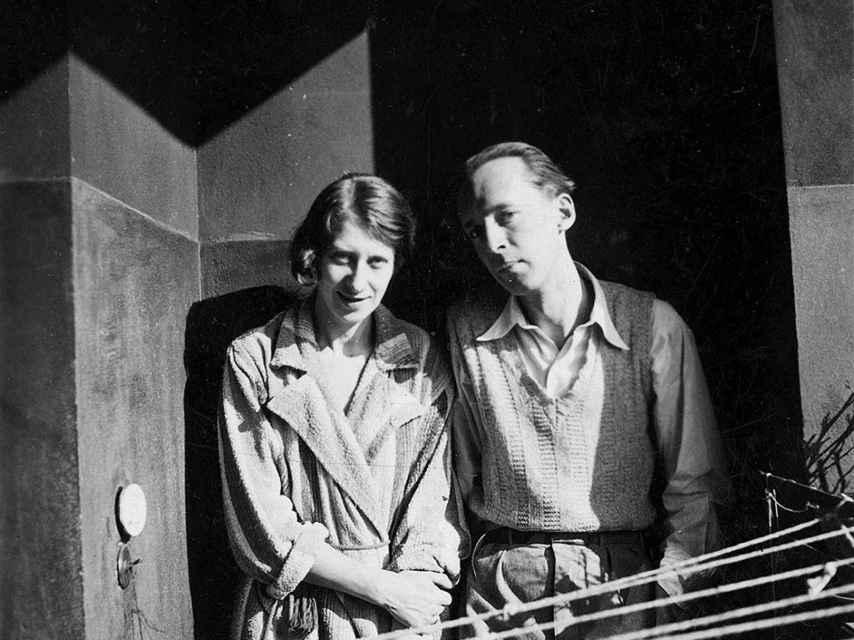 El matrimonio Nabokov.