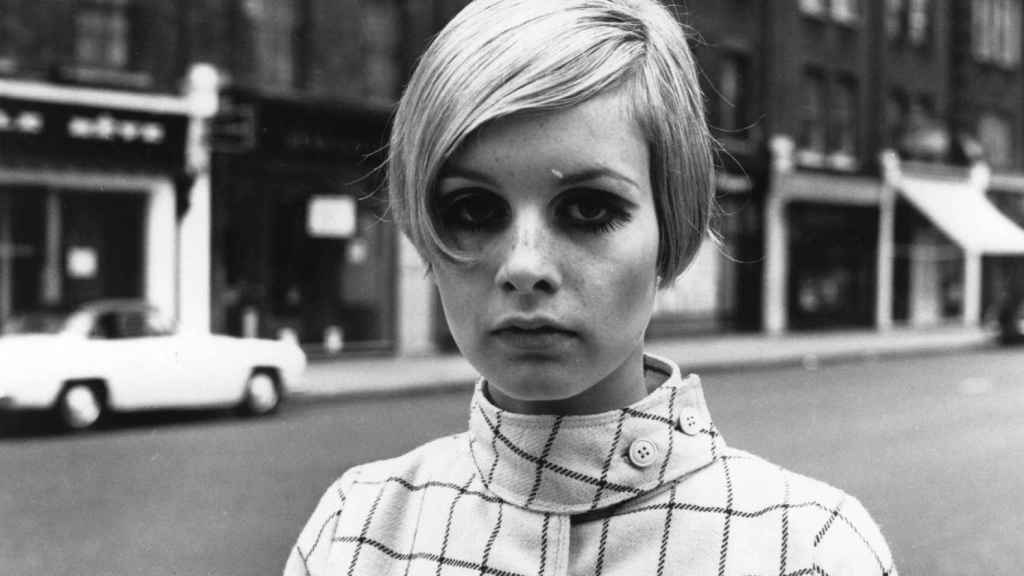La modelo Twiggy, muy famosa en los años 60. | Foto: Getty Images.