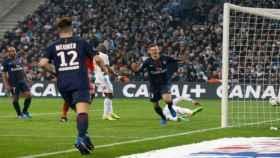 Draxler celebra un gol con el PSG. Foto: psg.fr