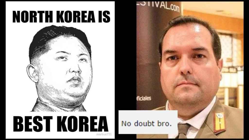 La clase de memes que le gustan a Cao de Benós (y al líder Supremo, por lo visto)
