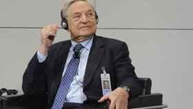 Georges Soros, el magnate estadounidense de orgien húngaro.