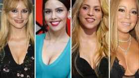 Alba carrillo, Cristina Pedroche, Shakira y Mariah Carey.