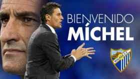 Míchel, anunciado por el Málaga.