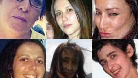 Algunas de las mujeres asesinadas este año por culpa de la violencia machista.